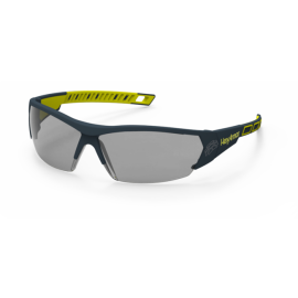 HexArmor MX250 Anti-Fog Scratch Resistant Safety Glasses  TruShield™ Gray Lens Gray Color - 12 / Box