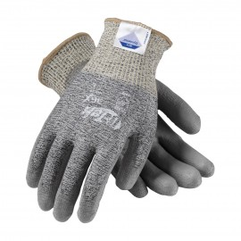 PIP 19-D320/L G-Tek Seamless Knit Dyneema Diamond Blended Glove with Polyurethane Coated Smooth Grip on Palm & Fingers Large 6 DZ