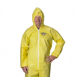 Lakeland C55428 ChemMax 1 Coverall - Bound Seam - Attached Hood & Elastic (25 Per Case)