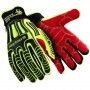 HexArmor Rig Lizard Work Gloves Hi-Vis Yellow Color 1 Pair
