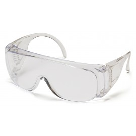 Pyramex Safety - Solo - Clear Frame/Clear Lens Polycarbonate Safety Glasses - 12 / BX