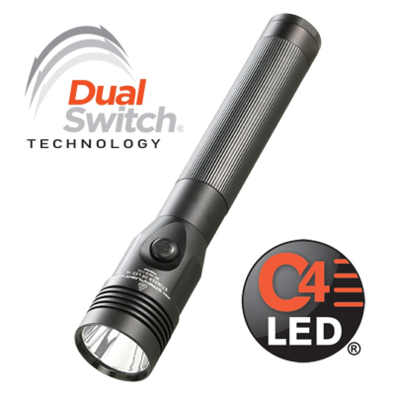 Streamlight Stinger DS LED HL w AC & DC Chargers