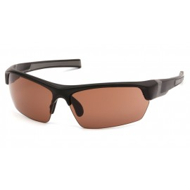 Venture Gear  Tensaw  Black Frame/Bronze AntiFog Lens  Safety Glasses  1 / EA