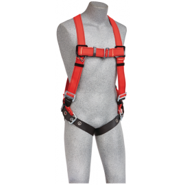 3M™ PROTECTA® PRO™ Vest-Style Harness for Hot Work Use 1191383, Red, Medium/Large