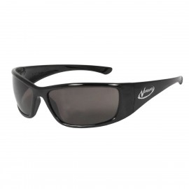 Radians Vengeance - Smoke Polarized - Black Frame Safety Glasses  Style  Color - 12 Pairs / Box