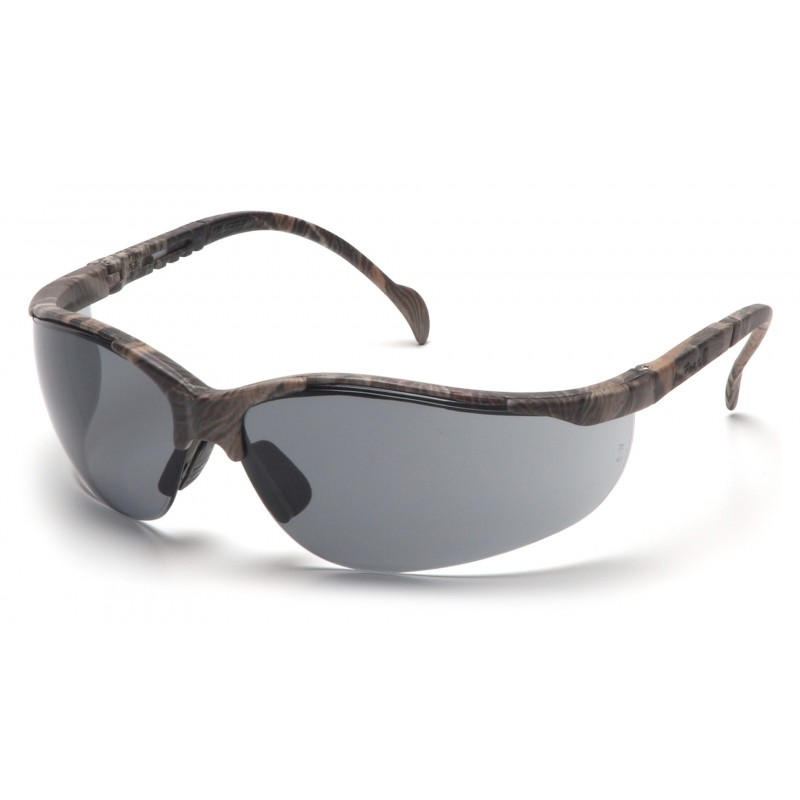 Pyramex Safety - Venture II - Real Tree HW® Frame/Gray Lens Polycarbonate Safety Glasses - 12 / BX