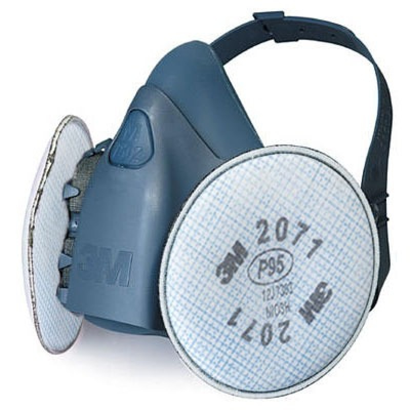 3M 7500 Series Half Facepiece Dust and Sanding Respirator Assembly