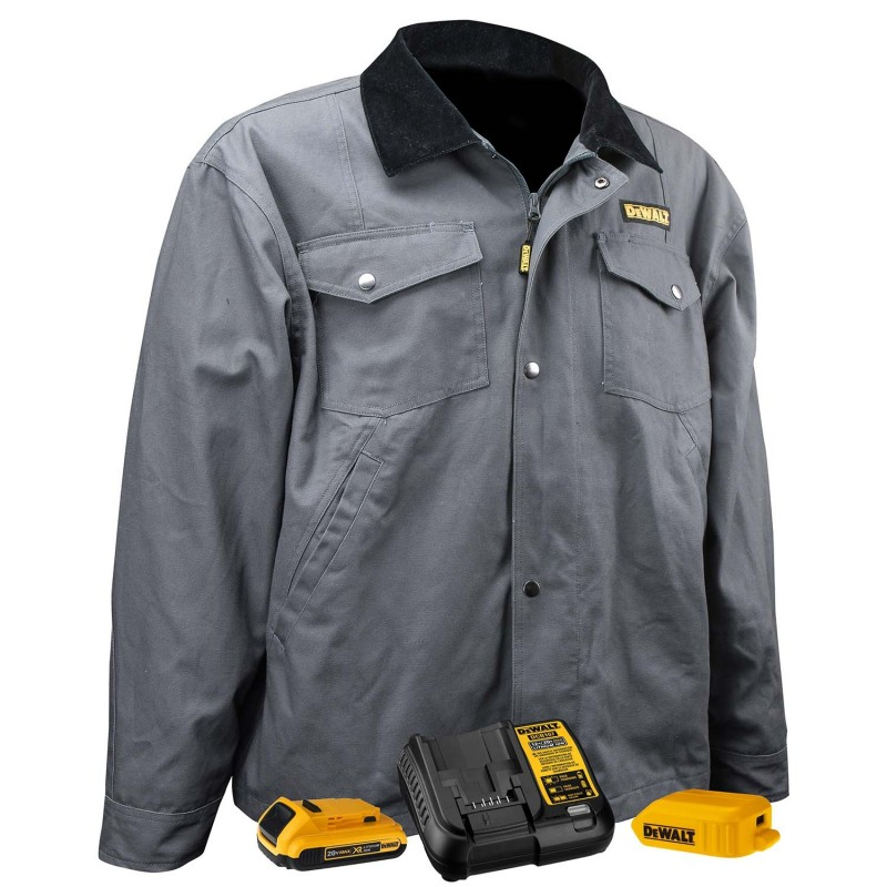 DEWALT® DCHJ083CD1 Unisex Heated Barn Coat