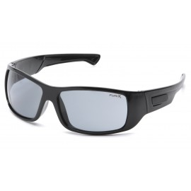 Pyramex  Furix  Black Frame/Gray AntiFog  Safety Glasses  12/BX