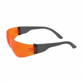 PIP Bouton Zenon Z12 Anti-Scratch Safety Glasses, Orange Lens 1/Case