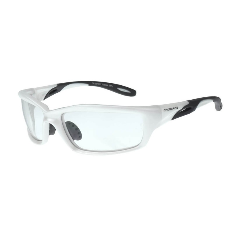 Radians Infinity - Clear lens / Pearl white frame Safety Glasses ...