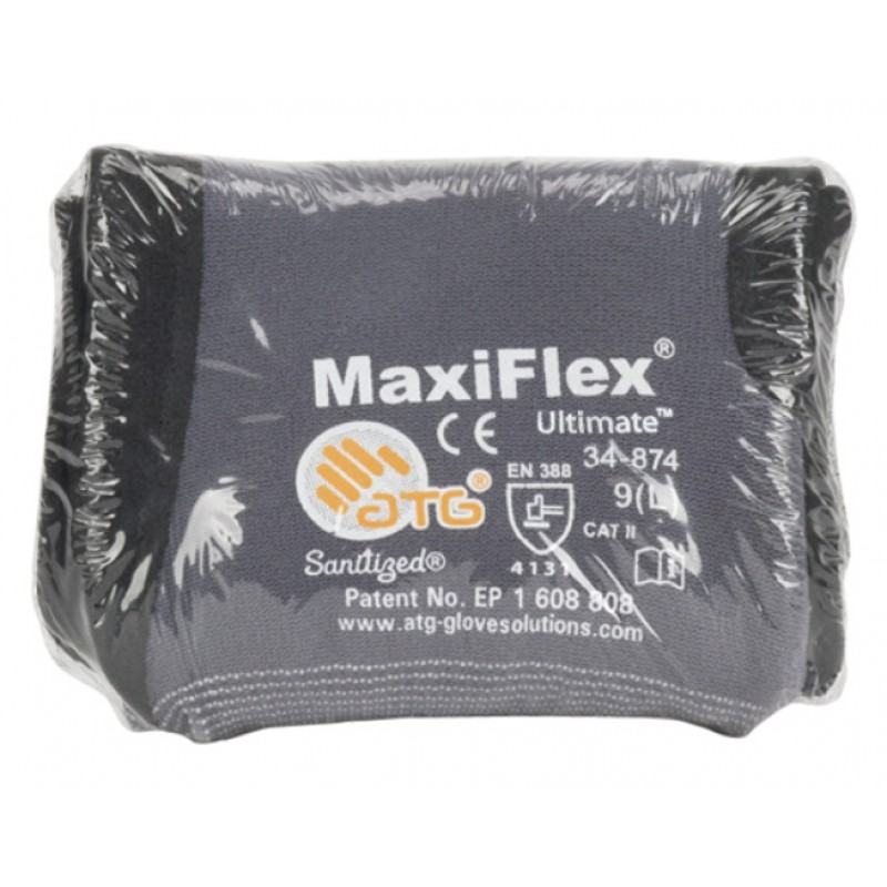 PIP ATG 34 874V MaxiFlex Ultimate Gloves  VEND PACK  Nitrile Micro Foam  Gray (1 DZ)