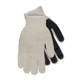 Seamless Knit with PVC Palm Coating Glove - Regular Weight