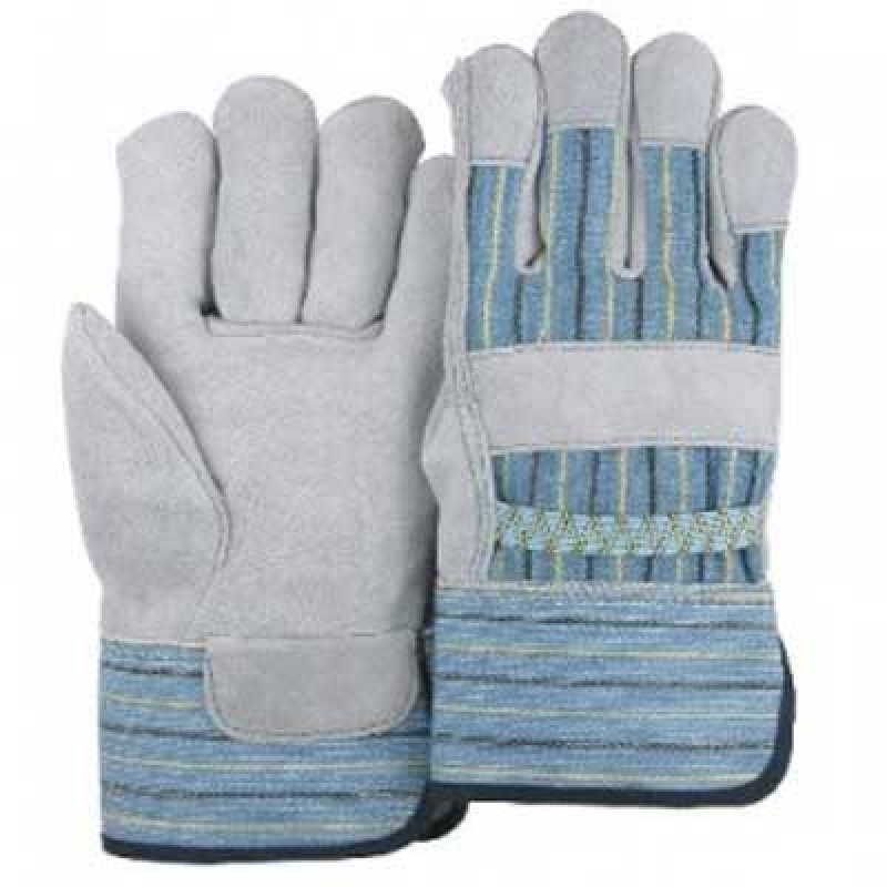 Majestic Children's Leather Palm Kids Work Gloves