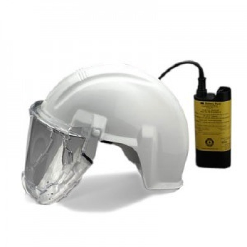 3m Airstream As 400 Lbc Headgear Mounted Papr System