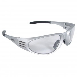 Radians DEWALT Ventilator - Clear Lens - Silver Frame Safety Glasses Full Frame Style Silver Color - 12 Pairs / Box