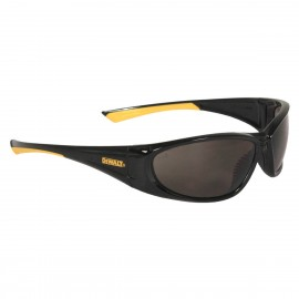 DEWALT Gable - Smoke Lens Safety Glasses Full Frame Style Black Color - 12 Pairs / Box