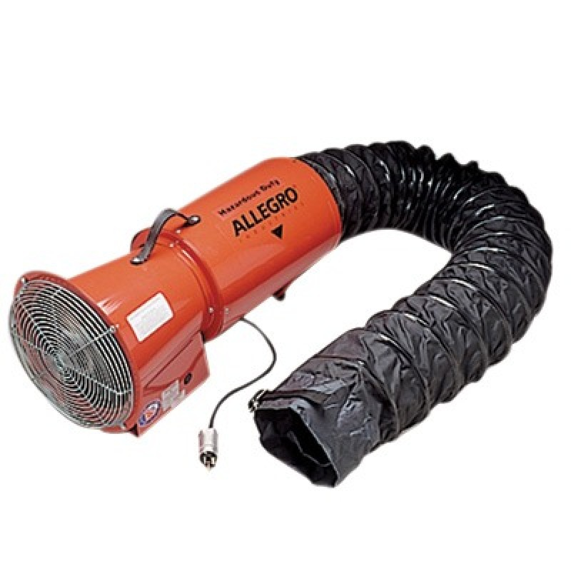 Allegro 9514-05 AC Axial Explosion Proof Blower with Ducting