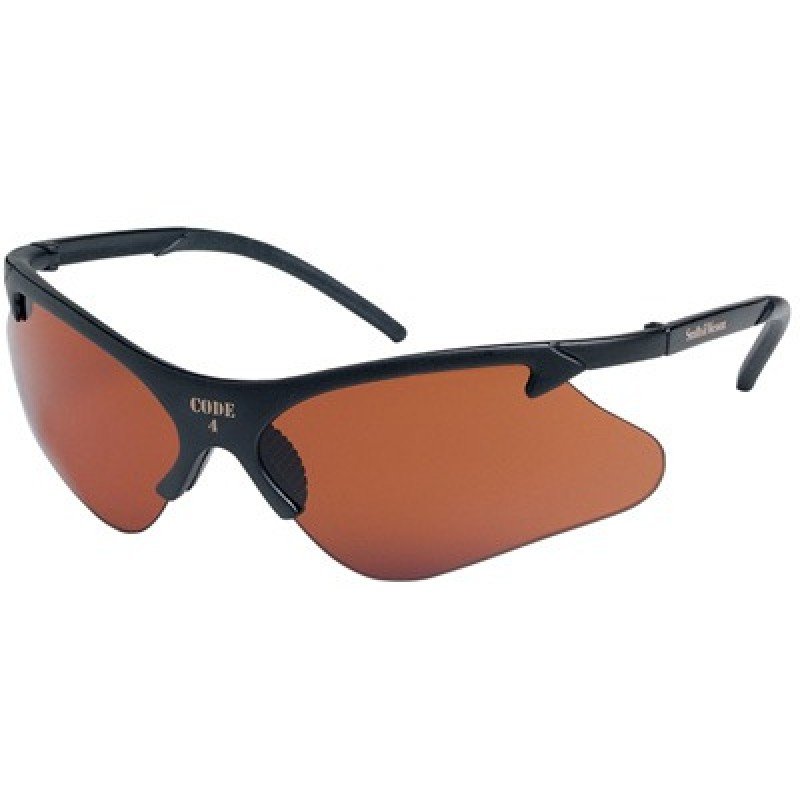 Code 4 Safety Glasses with Copper Blue Block Lens 12 Pairs