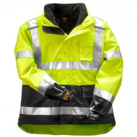 Tingley J24172.5X ICON 3.1 Jacket System with Hood and Removable Black Fleece Jacket