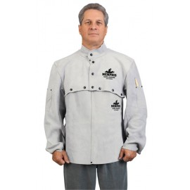 Memphis Welding Apparel - Cape Sleeve with Open Back - 2 Pockets 38100MW