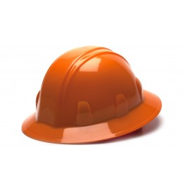 Pyramex HP26140 SL Series Full Brim Hard Hat   Orange Color - 12 / CS