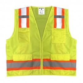 Sprighten Surveyor Vest - Class 2 - Solid Front - Mesh Back (1 EA)
