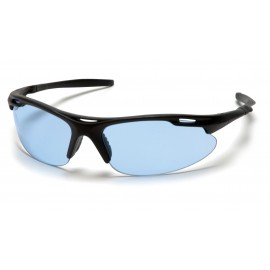 Pyramex  Avante  Black Frame/Infinity Blue Lens  Safety Glasses  12/BX