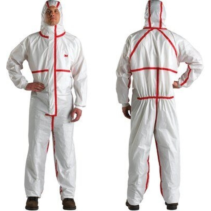 3M 4565-BLK Disposable Chemical Protective Coverall Safety Work Wear 25 EA/Case