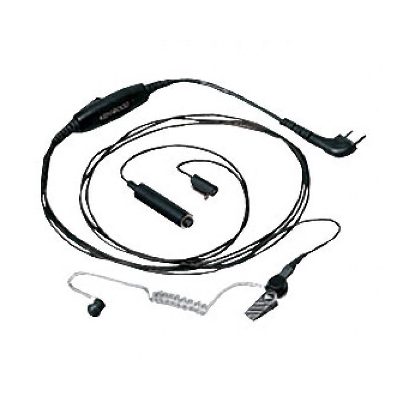 Three-Wire Lapel Microphone with Earphone