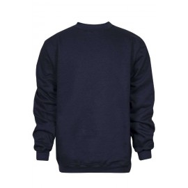 NSA C21IF02 Navy Heavyweight Crew Neck FR Sweatshirt