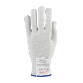PIP 22-770M Kut Gard Polyester over Dyneema / Silica / Stainless Steel Core Antimicrobial Glove Heavy Weight Medium 24 EA