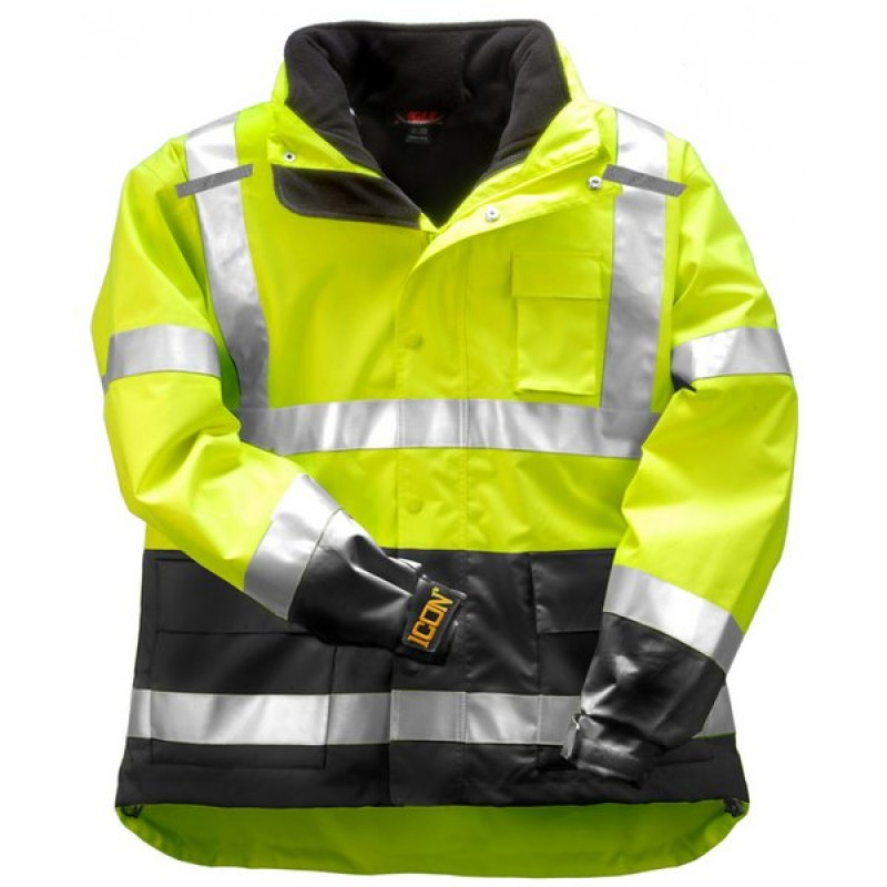 Tingley J24172.2X ICON 3.1 Jacket System with Hood and Removable Black Fleece Jacket
