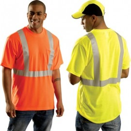 Occunomix Class 2 High Visibility T-Shirt with Stripes