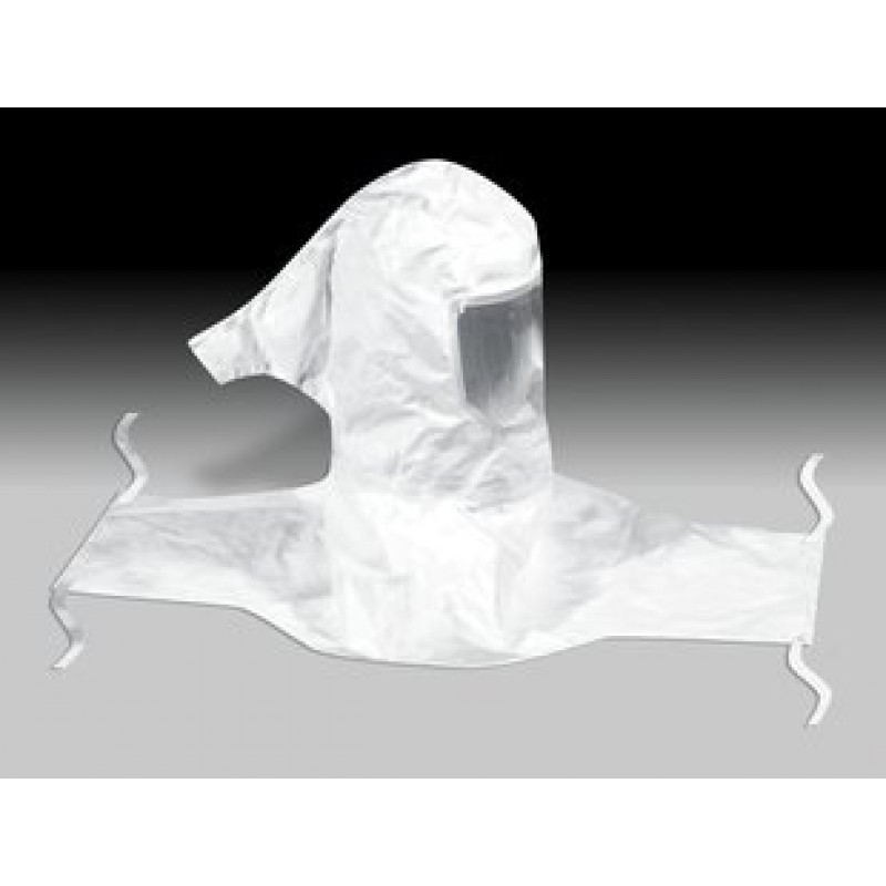 3M™ Sealed-Seam Hood Assembly H-612, with Collar and Hardhat SL