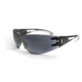 Radians Optima Polycarbonate Safety Glasses Black Color Smoke Lens  - 12  / Box