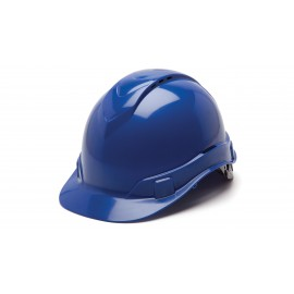 Pyramex HP44160V Ridgeline Hard Hat   Blue Color - 16 / CS