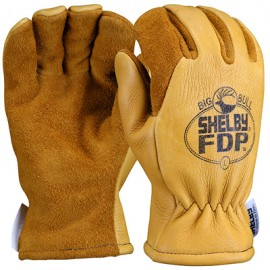 Shelby Big Bull Elk Gauntlet Fire Gloves