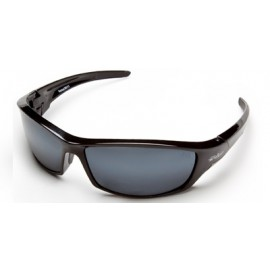 Edge Reclus Safety Glasses with Black Frame and 1236 Mirror Lens