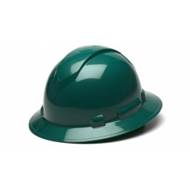 Pyramex HP54135 Ridgeline Full Brim Hard Hat Green Color - 12 / CS