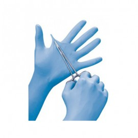 Ansell N81 Nitrile Exam Gloves - 5.5 Mil Blue