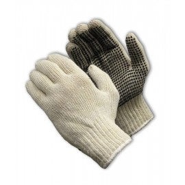 Seamless Knit with PVC Palm Glove - 7 Gauge 12 Pairs