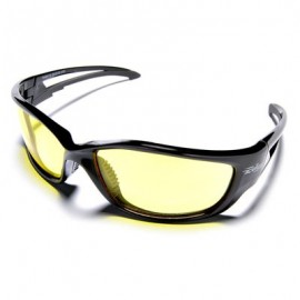 Edge Kazbek X-Large Safety Glasses - Yellow Lens
