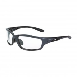 Radians Infinity Clear Gray Frame Safety Glasses 12 PR/Box