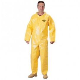 Tychem BR Coveralls with Open Wrists and Ankles