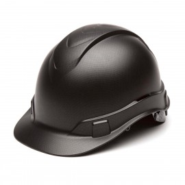 Pyramex HP44117 Ridgeline Hard Hat Graphite Black 16 / CS