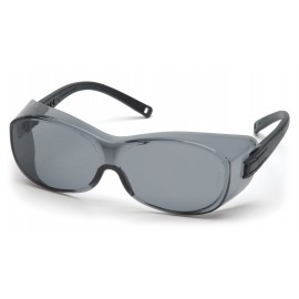 Pyramex OTS Black Frame/Gray Lens  Gray Color 12 per Box