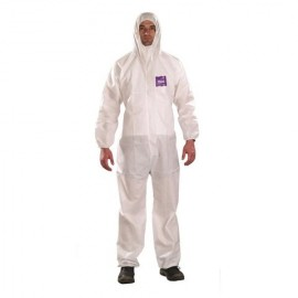 74d0a83efcbf Ansell MicroChem® AlphaTec® 68-1500 Model 101 Hooded Coverall (25 CS