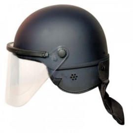 Hatch Fiberglass/Kevlar Riot Helmet with Face Shield