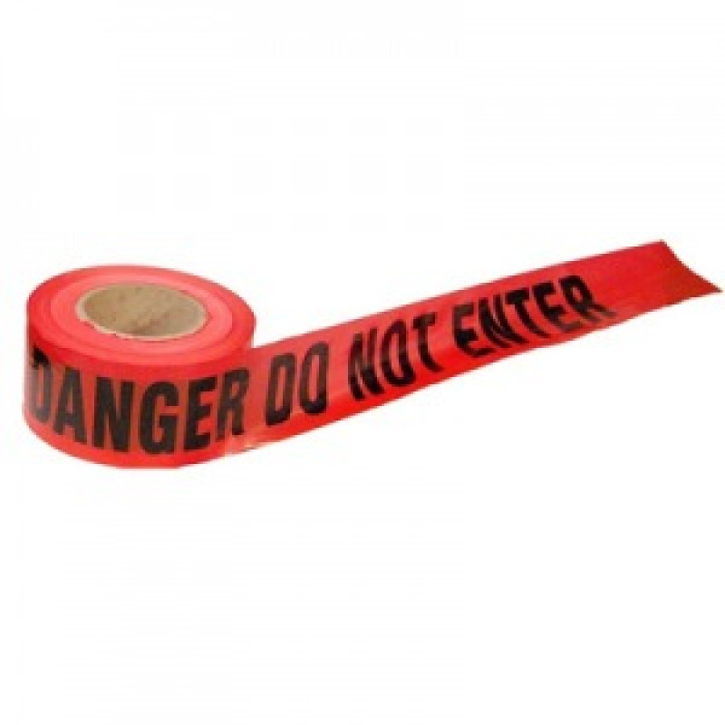 Barricade Tape - DANGER DO NOT ENTER